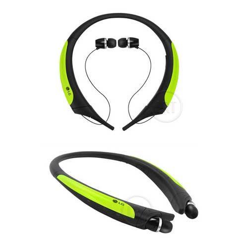 LG HBS850 防汗防潑水運動藍牙耳麥-螢光黃