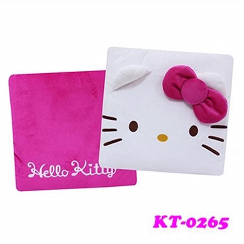 Hello Kitty 臉型兩用抱枕被 KT-0265