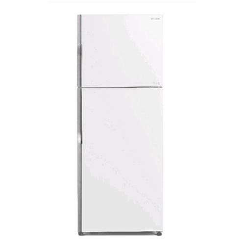 HITACH日立 RG439GPW^(白^)I變頻雙門琉璃冰箱