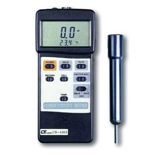 Lutron 智慧型電導度計 CD-4303