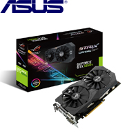 ASUS華碩 GeForce® STRIX-GTX1050TI-O4G-GAMING 顯示卡