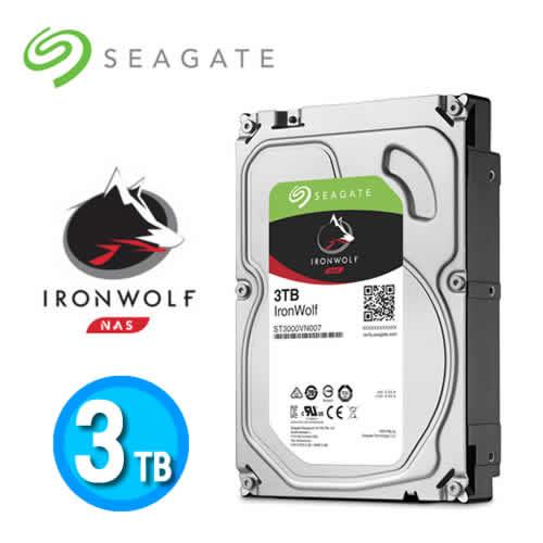 Eclife-Seagate IronWolf 3TB 3.5NAS (ST3000VN007)