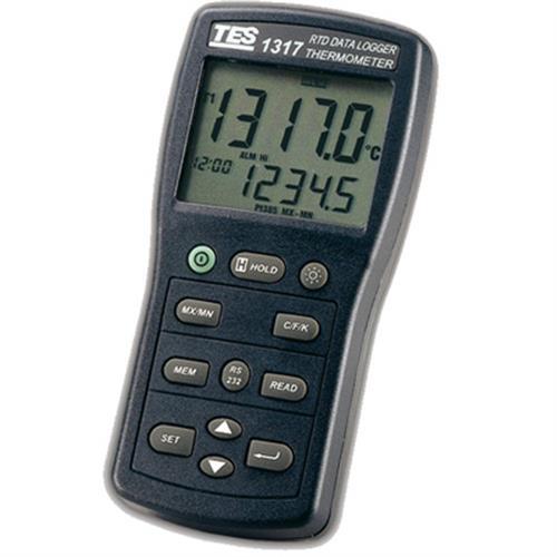 泰仕TES 白金電阻溫度錶 TES-1317