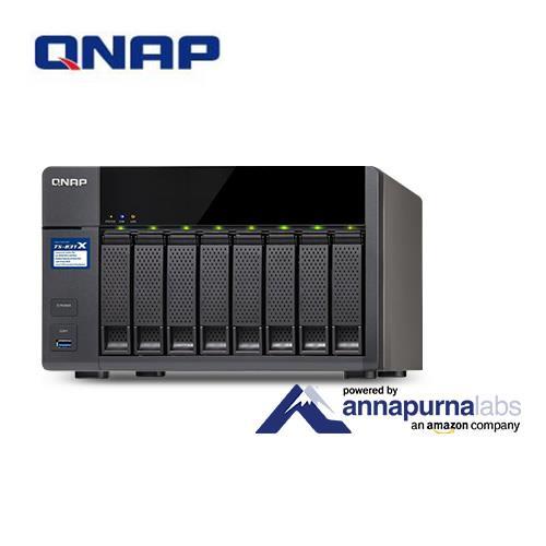 QNAP威聯通 TS-831X-4G 8Bay網路儲存伺服器