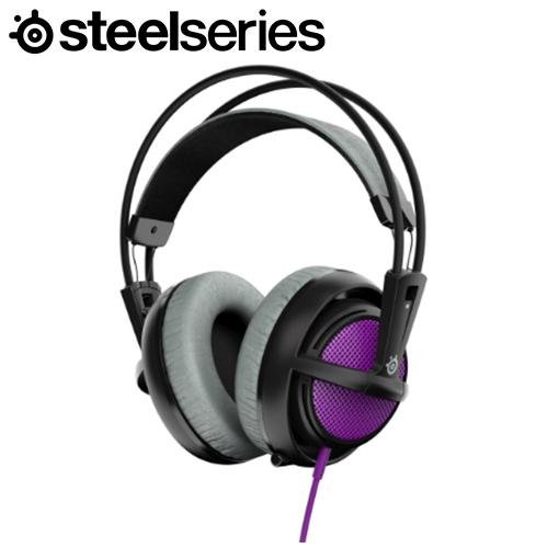 Steelseries 賽睿 Siberia 200 西伯利亞耳機麥克風 紫
