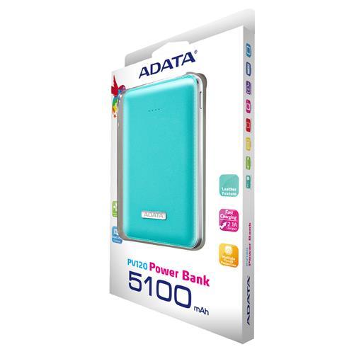ADATA威剛 超迷你行動電源 PV120 藍色