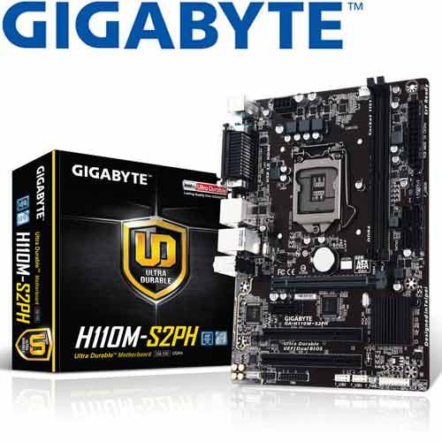 GIGABYTE技嘉 GA-H110M-S2PH 主機板