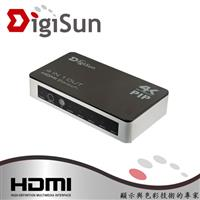 DigiSun   4Kx2K HDMI 四進一出切換器 VH741P