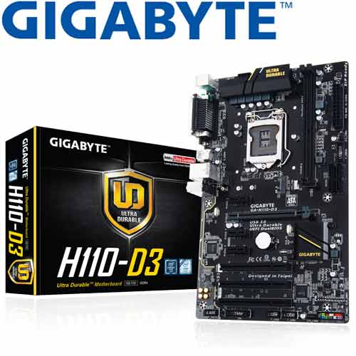 GIGABYTE技嘉 GA-H110-D3 主機板