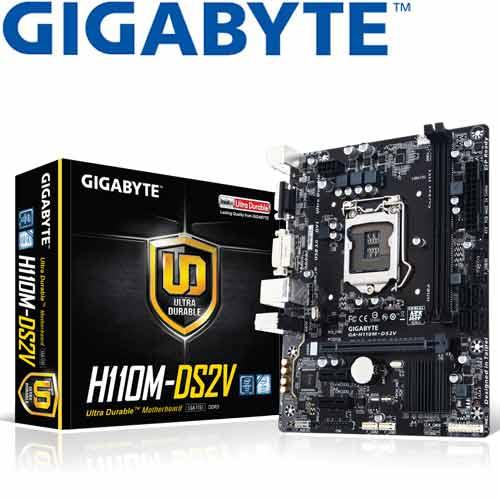 GIGABYTE技嘉 GA-H110M-DS2V 主機板