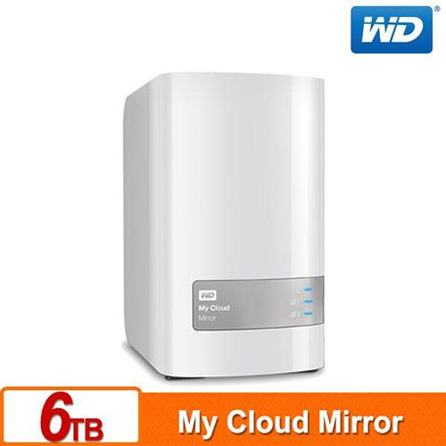 WD My Cloud Mirror(Gen2) 6TB(3TBx2) 雲端儲存系統