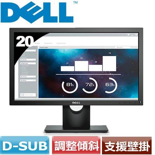 DELL  20型液晶螢幕 E2016HV