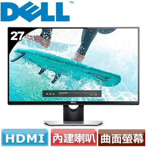 DELL  27型曲面液晶螢幕 SE2716H