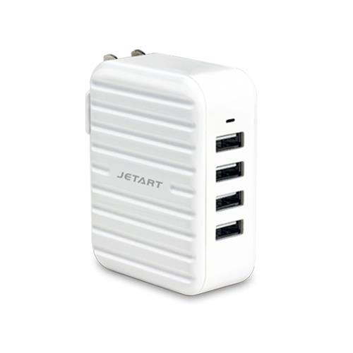 JETART 4孔6A智慧型USB充電器 UCA4060