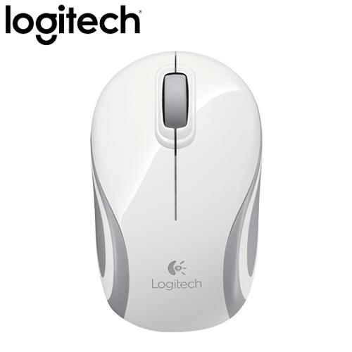 Logitech 羅技 M187 無線迷你滑鼠 白