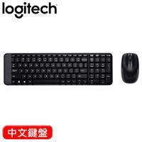 【加價購】Logitech 羅技 MK220 無線鍵盤滑鼠組 中文