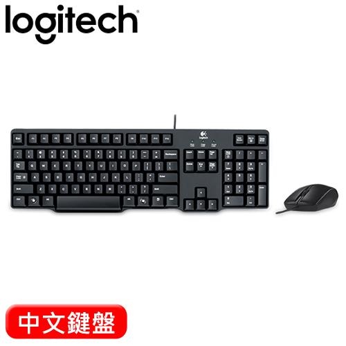 Logitech 羅技 MK100 2代有線鍵盤滑鼠組