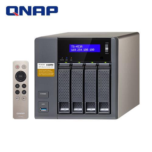 QNAP威聯通 TS-453A-4G 4Bay網路儲存伺服器