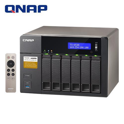 QNAP威聯通 TS-653A-4G 6Bay網路儲存伺服器