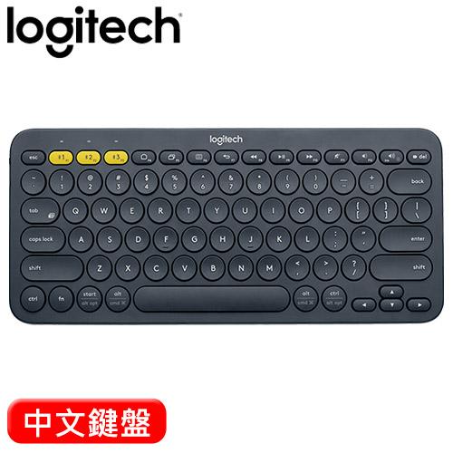 Logitech 羅技 K380 跨平台藍牙鍵盤 黑