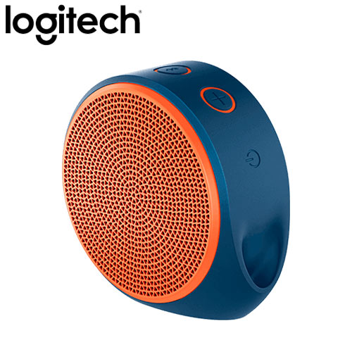 Logitech 羅技 X100 無線藍牙喇叭 亮橘
