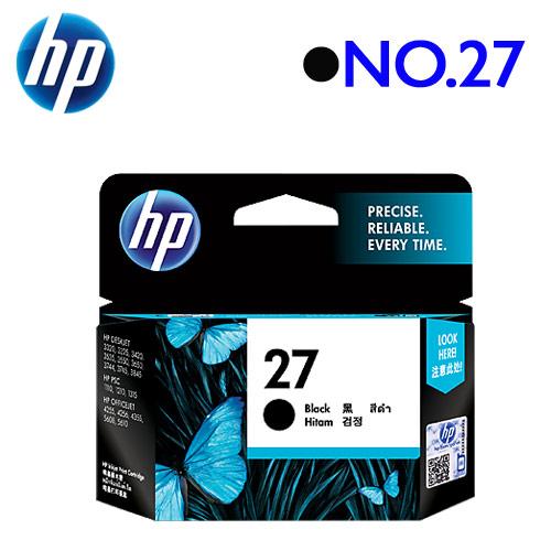 HP NO.27/C8727AA 原廠墨水匣 (黑)