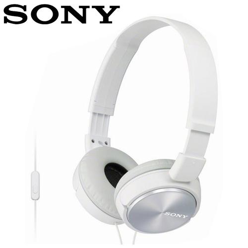 SONY 索尼 MDR-ZX310AP 全系列智慧型手機線控耳罩式耳機  白