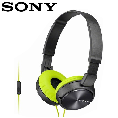 SONY 索尼 MDR-ZX310AP 全系列智慧型手機線控耳罩式耳機  灰