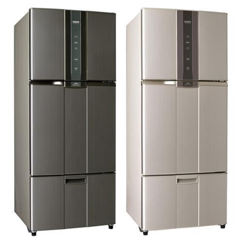 Sampo聲寶530L一級變頻三門冰箱SR-N53DV(R6)紫燦銀