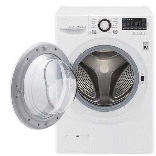 LG 樂金 F2514NTGW^(絢麗白^) 14公斤◆6MOTION DD變頻滾筒洗衣機