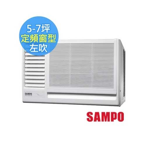 SAMPO聲寶 5-7坪左吹定頻窗型冷氣AW-PA36R1 [ AW-PA36R1 ]