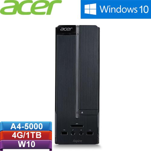 ACER宏碁 Aspire XC-105 桌上型電腦 A4-5000