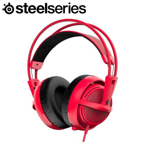 Steelseries 賽睿 Siberia 200 西伯利亞耳機麥克風 紅