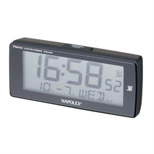 日本NAPOLEX 黏貼式 電波時鐘 Fizz-850