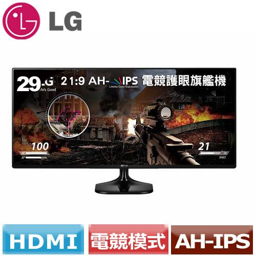 LG 29型21:9 UltraWide電競旗艦螢幕 29UM58-P