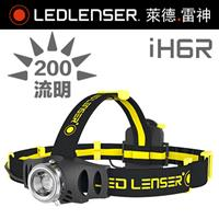 德國 LED LENSER iH6R 工業用充電式伸縮調焦頭燈