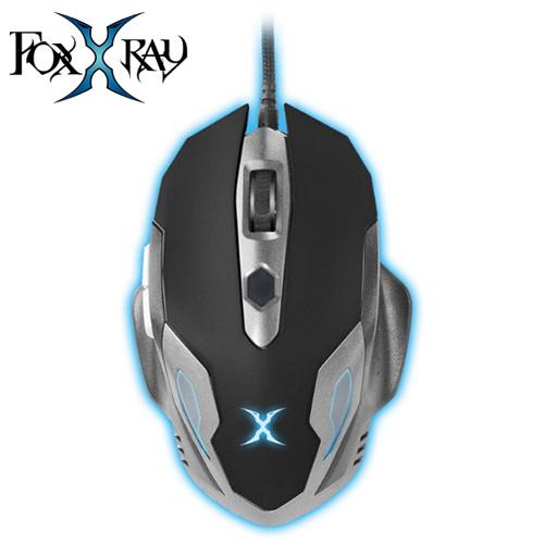 FOXXRAY 狐鐳 FXR~BMP~15 霧月獵狐電競滑鼠 鼠墊 灰