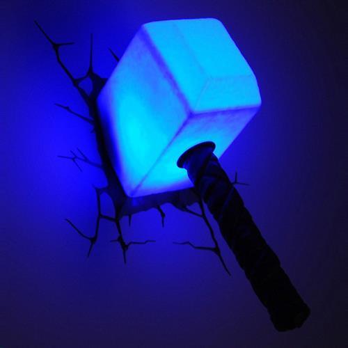 MARVEL復仇者聯盟 3D夜燈-索爾雷鎚