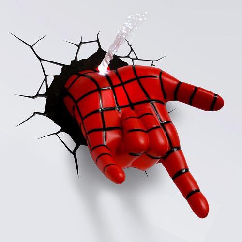 MARVEL復仇者聯盟 3D夜燈-蜘蛛人手