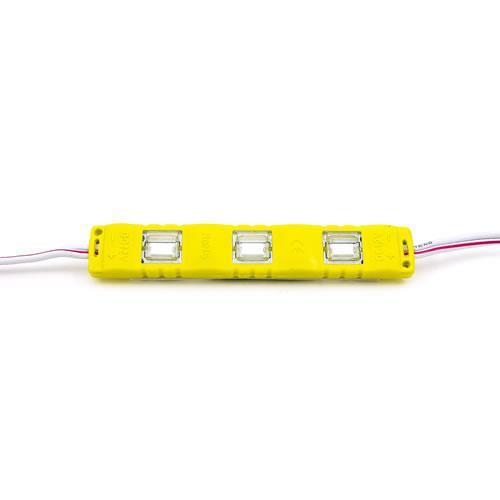 5630 LED 3燈長形模組(橙光) 50-55lm