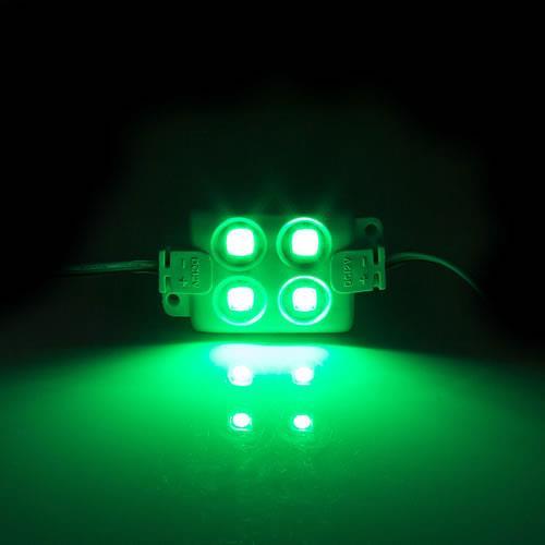 5630 LED 4燈方形模組(綠光) 50-55lm