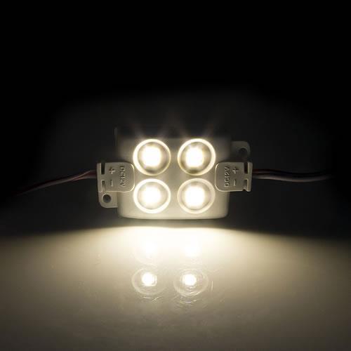 5630 LED 4燈方形模組(暖白光) 50-55lm