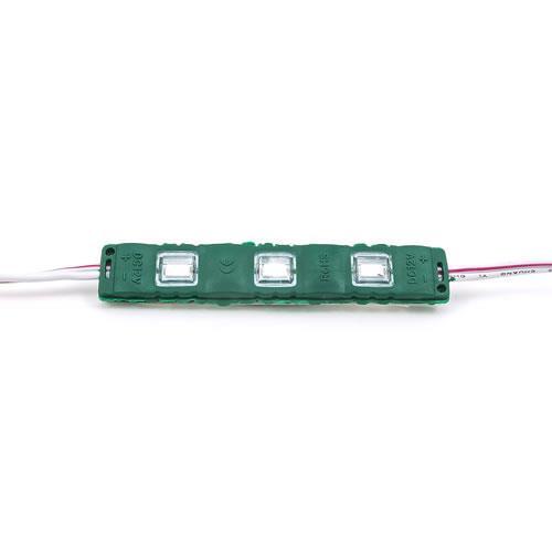 5630 LED 3燈長形模組(綠光) 50-55lm