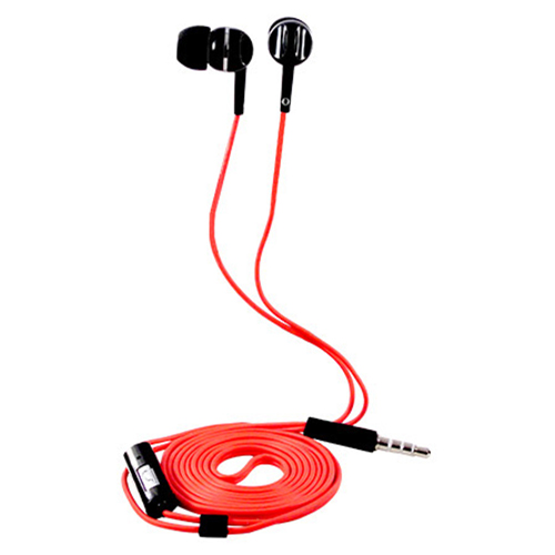 SeeHot 嘻哈 S340 立體聲有線入耳式耳機 紅