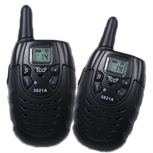 TCO 免執照無線電對講機5821A (黑色)
