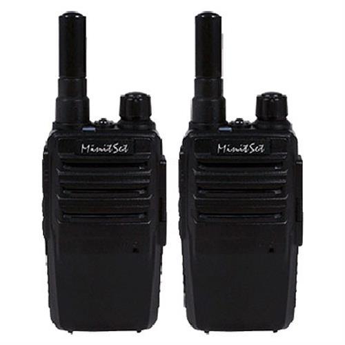 MinitSet X2 專業手持無線電對講機 (二支入)