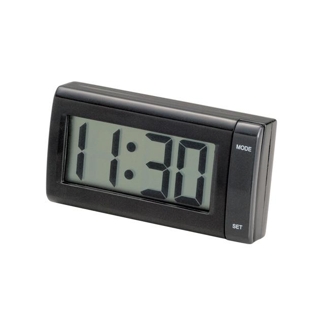 日本SEIWA 背膠黏貼 電池式 液晶時鐘 W851