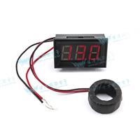 0.56三位元 LED交流電流錶頭 AC50A(黑殼紅光)