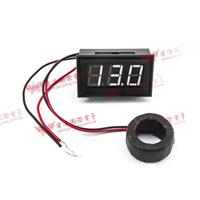 0.56三位元 LED交流電流錶頭 AC50A(黑殼白光)