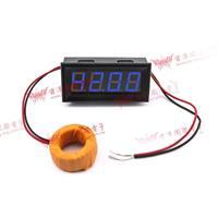 0.56四位元 LED交流電流錶頭 AC100A(黑殼藍光)